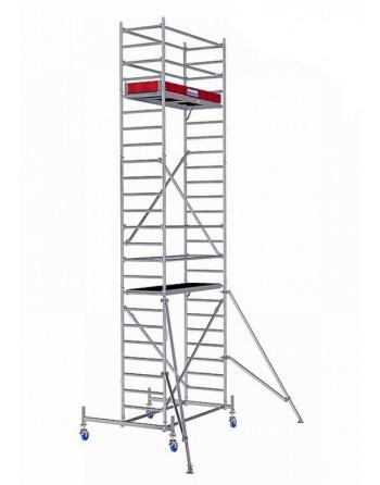 Rusztowanie jezdne Seria 10 - 2.0 x 0.75 m wys. robocza 7.40 m