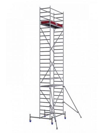 Rusztowanie jezdne Seria 10 - 2.0 x 0.75 m wys. robocza 8.40 m
