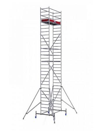 Rusztowanie jezdne Seria 10 - 2.0 x 0.75 m wys. robocza 9.40 m