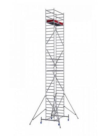 Rusztowanie jezdne Seria 10 - 2.0 x 0.75 m wys. robocza 10.40 m