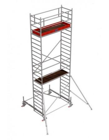 Rusztowanie jezdne Seria 100 - 2.0 x 0.75 m wys. robocza 7.40 m