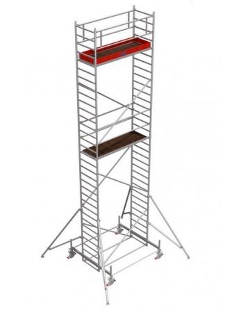 Rusztowanie jezdne Seria 100 - 2.0 x 0.75 m wys. robocza 9.40 m