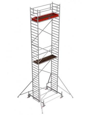 Rusztowanie jezdne Seria 100 - 2.0 x 0.75 m wys. robocza 10.40 m