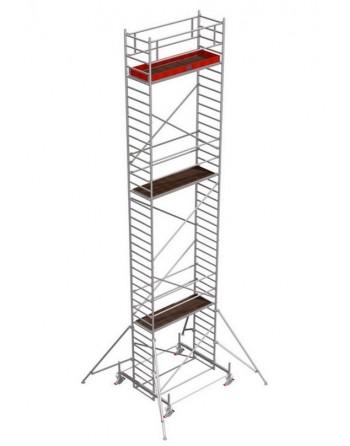 Rusztowanie jezdne Seria 100 - 2.0 x 0.75 m wys. robocza 11.40 m