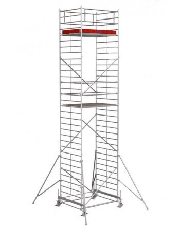 Rusztowanie jezdne Seria 500 - 2.0 x 1.50 m wys. robocza 9.40 m