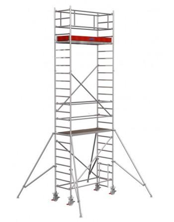 Rusztowanie jezdne Seria 1000 - 2.0 x 0.75 m wys. robocza 7.30 m
