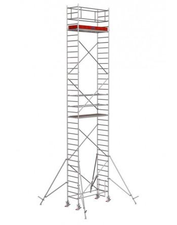 Rusztowanie jezdne Seria 1000 - 2.0 x 0.75 m wys. robocza 10.30 m