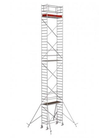 Rusztowanie jezdne Seria 1000 - 2.0 x 0.75 m wys. robocza 12.30 m