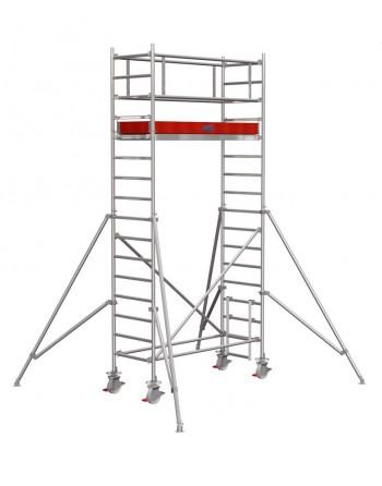 Rusztowanie jezdne Seria 1000 - 2.5 x 0.75 m wys. robocza 5.30 m