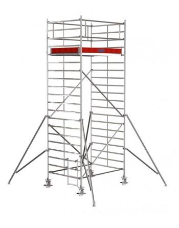 Rusztowanie jezdne Seria 5000 - 2.0 x 1.50 m wys. robocza 6.30 m