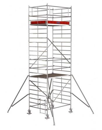 Rusztowanie jezdne Seria 5000 - 2.0 x 1.50 m wys. robocza 7.30 m