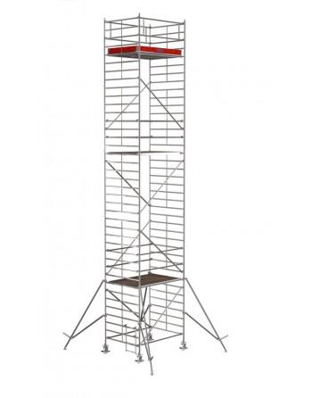 Rusztowanie jezdne Seria 5000 - 2.0 x 1.50 m wys. robocza 8.30 m