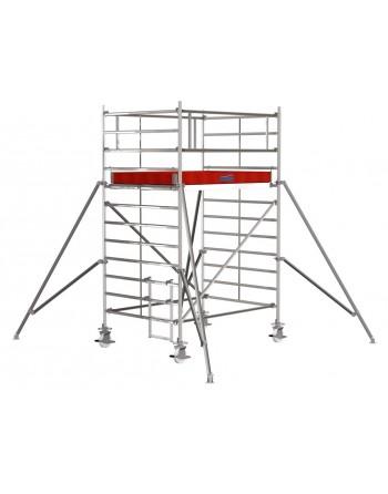 Rusztowanie jezdne Seria 5000 - 2.5 x 1.50 m wys. robocza 4.30 m