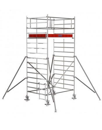 Rusztowanie jezdne Seria 5000 - 2.5 x 1.50 m wys. robocza 5.30 m